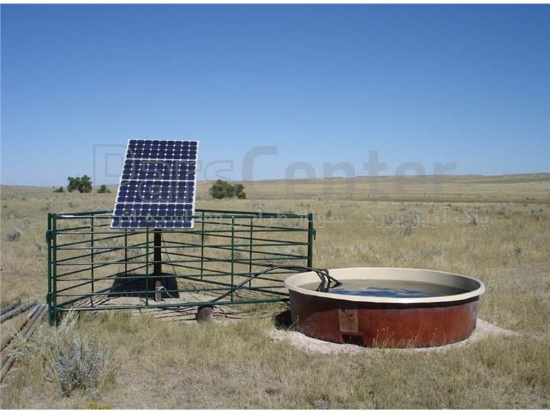 پمپ آب خورشیدی مدل QDX1.5-32-0.75FH