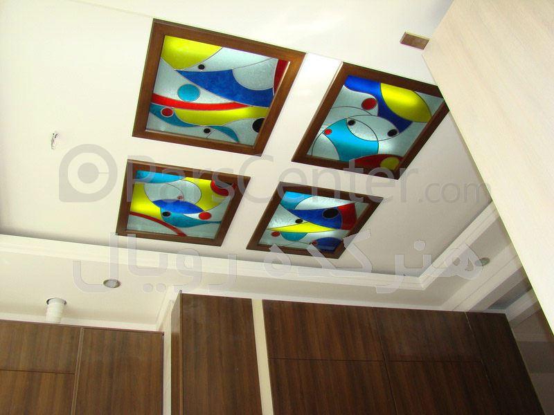 هنرکده رویال - سقف کاذب شیشه ای در آشپزخانه و سرویس ، پروژه ...سقف کاذب شیشه ای در آشپزخانه و سرویس ، پروژه اختیاریه شمالی