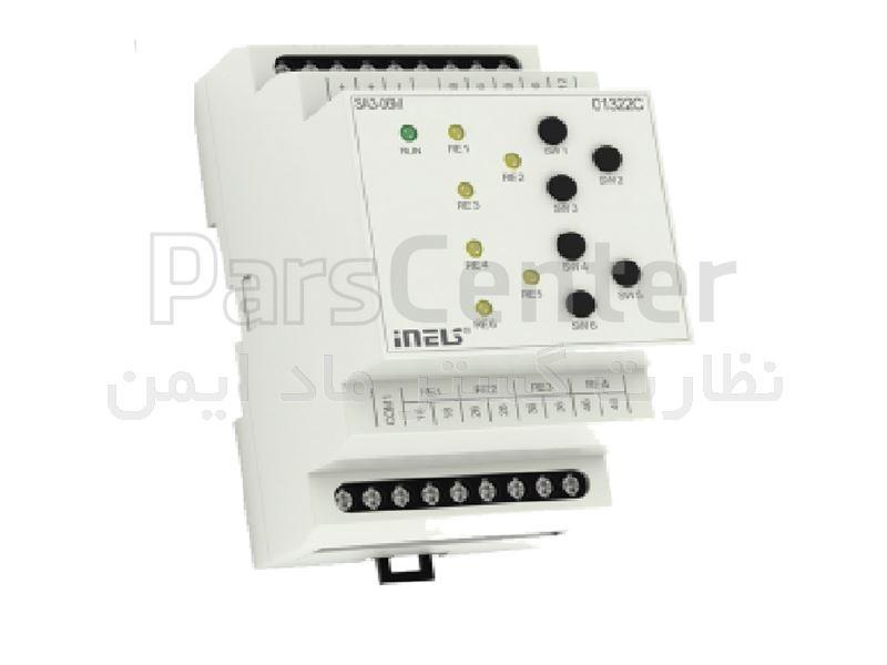 سوییچ عملگر شش کانال خانه هوشمند iNELS مدل SA3-06M