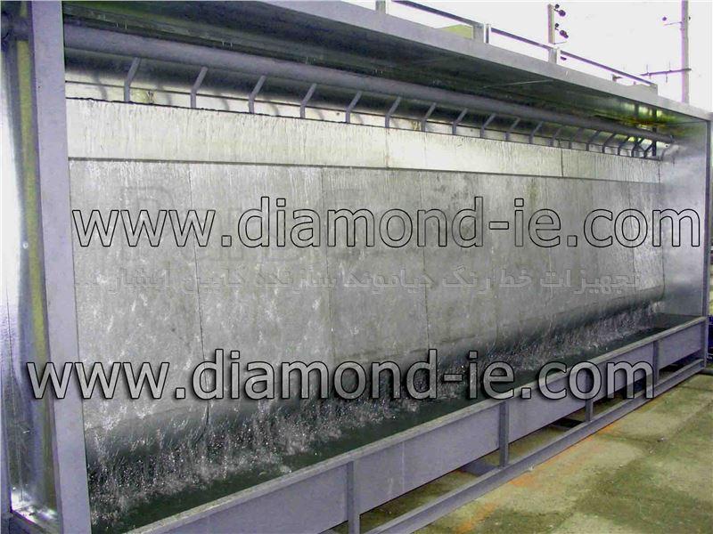 ساخت کابین ابشار رنگ DIAMOND