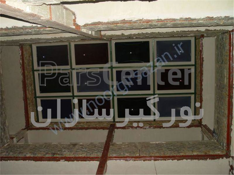 استفاده از نوگیر حبابی در پوشش انواع سقف(شهرک غرب)