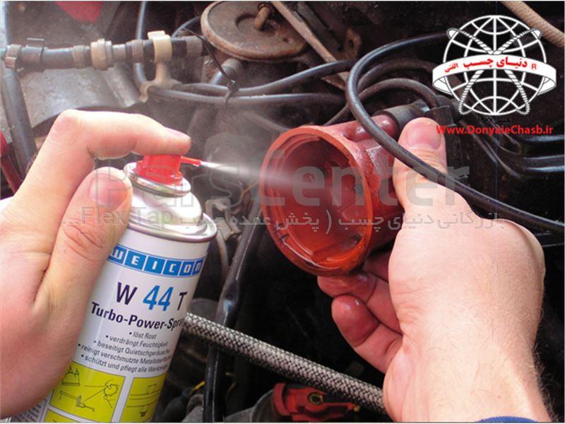 اسپری زنگ بر و روان کننده ویکون  WEICON W 44 T Multi-Spray آلمان
