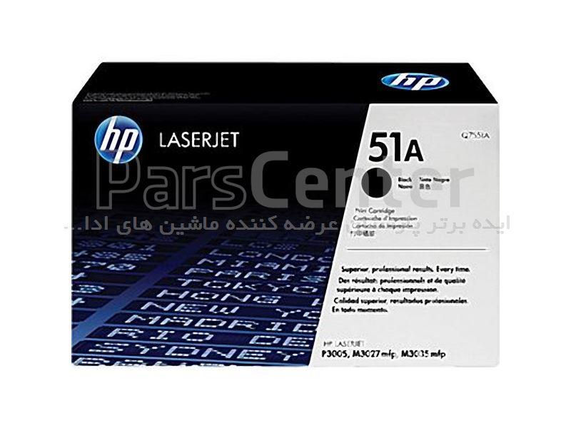 کارتریج لیزری مشکی HP (Q7551A) 51A