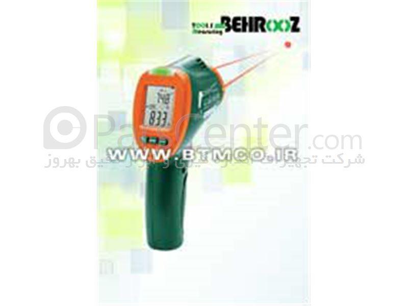 ترمومتر لیزری ، اسکنر حرارتی دو لیزری اکستچ،ترمومتر لیزری قابل اتصال به PC،گرمانگار لیزری