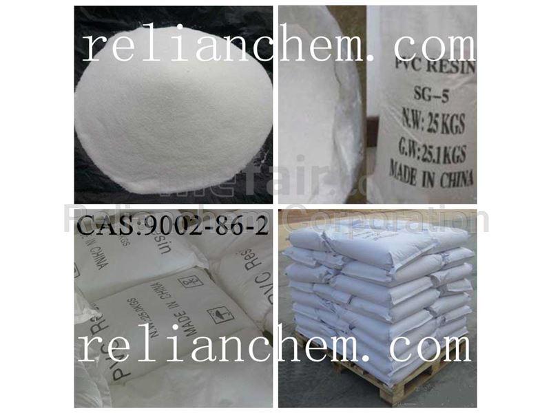 Plastics Polyvinyl chloride CAS:9002-86-2
