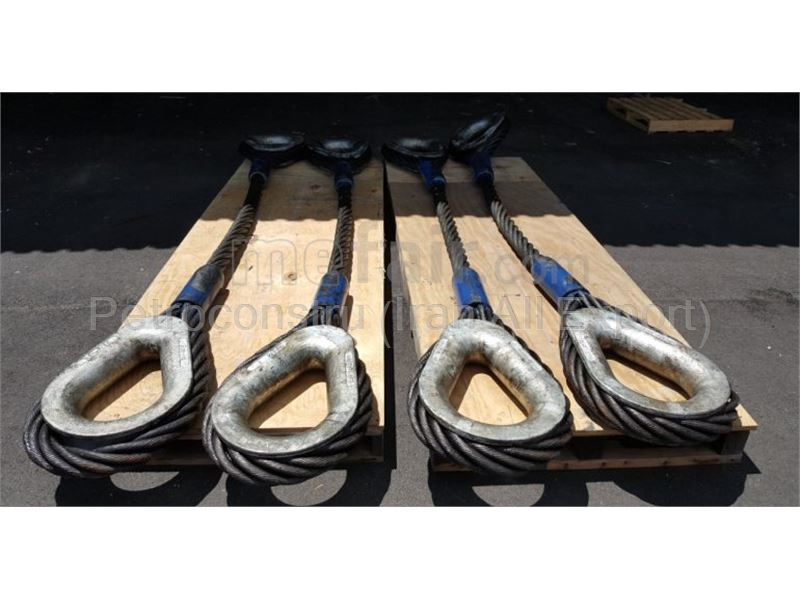 one leg wire rope sling