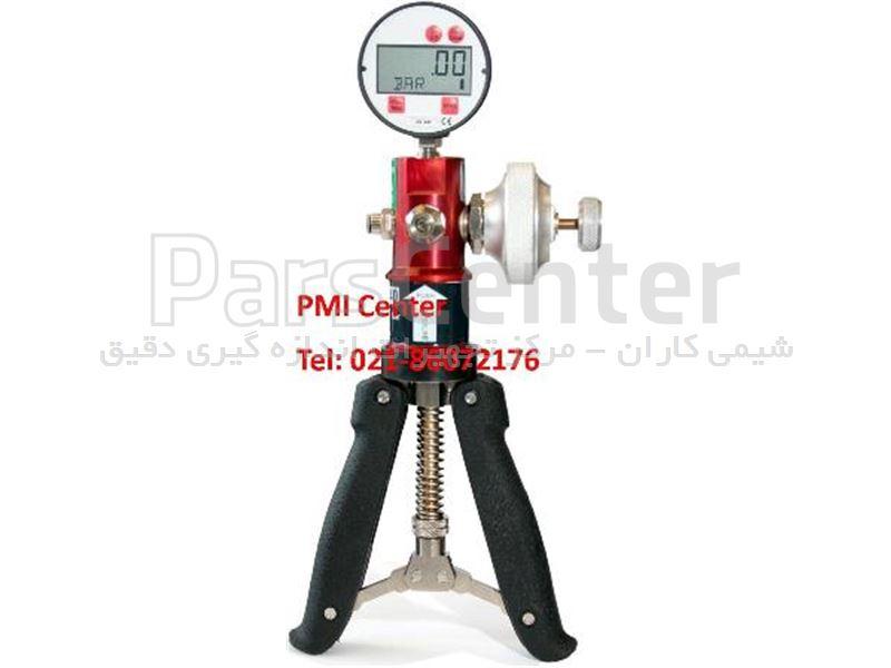 کالیبراتور فشار هند پمپ و گیج فشار  pressure calibrator  - Hand pump Nagman