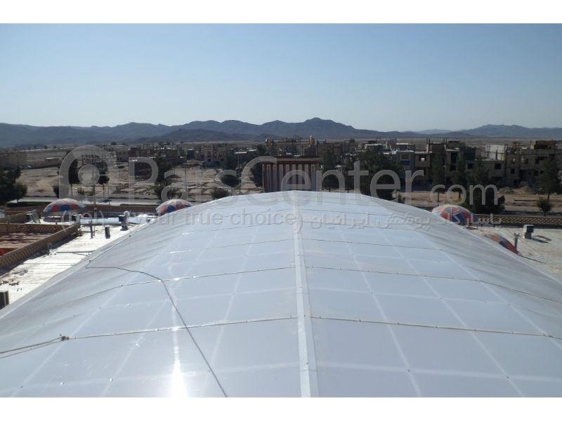 Building skylight _ نورگیر سقف رستوران هتل  عماد نظام شهر فردوس مشهد