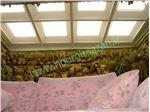 تبدیل حیاط خلوت و پاسیو به نشیمن گاه با پوشش سقف توسط نورگیر حبابی