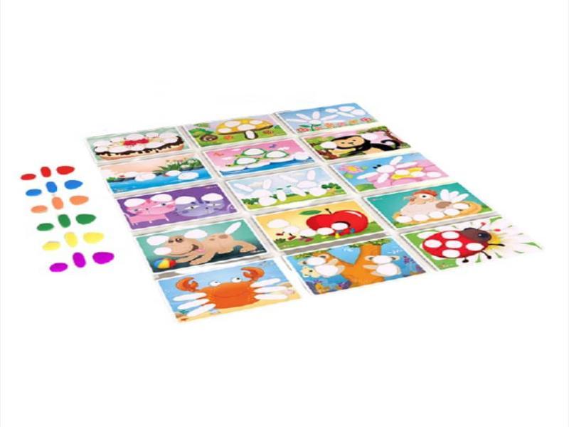 سنگریزه های رنگی سری ۲ کارابال   بازی فکری سنگریزههای رنگی سری ۲