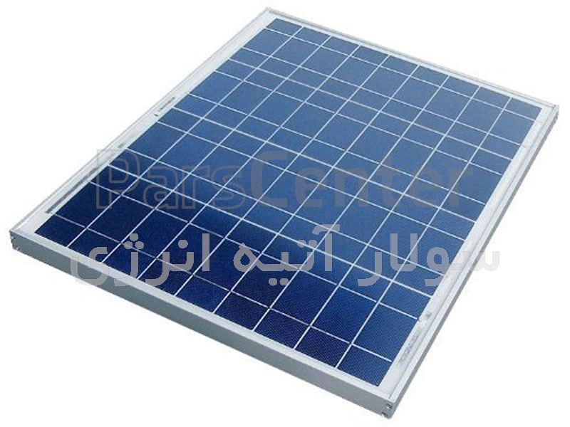 پنل خورشیدی 80 وات Maxcell