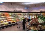 یخچال ایستاده میوه و سبزیجات فروشگاهی،یخچال روباز
