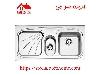 سینک ظرفشویی روکار کد 610 استیل البرز