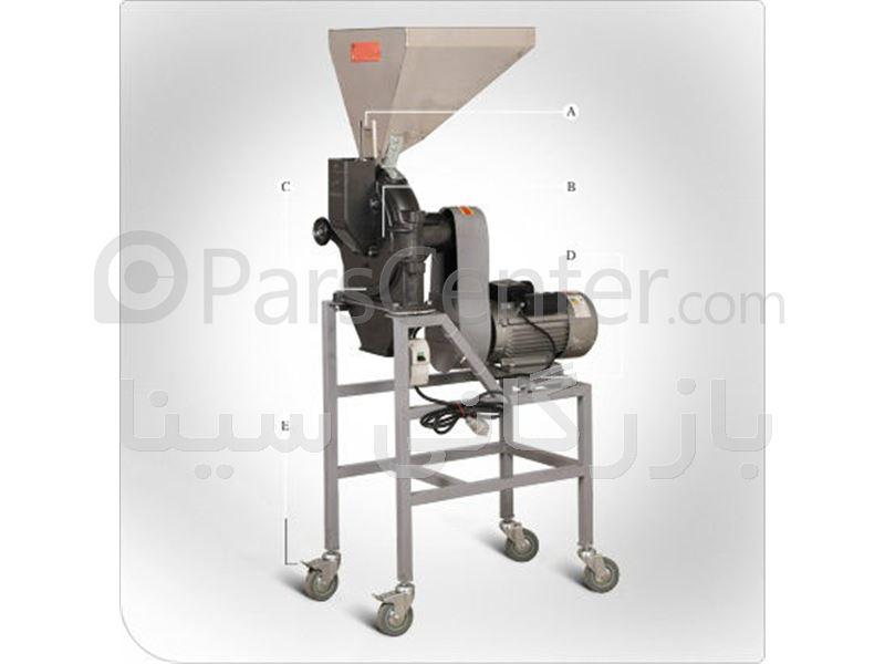 آسیاب صنعتی | پودر کن صنعتی پین دیسک 8400