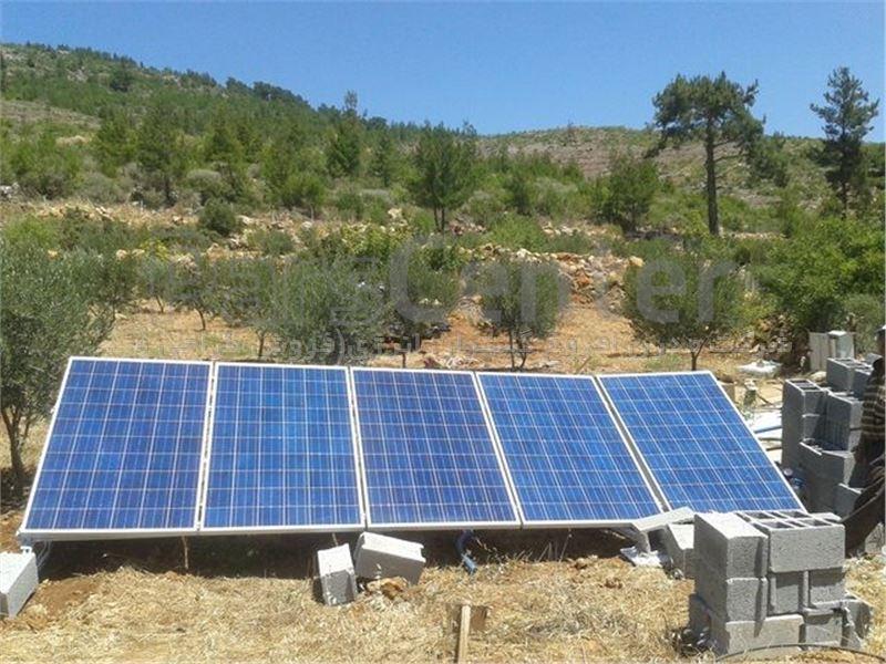 پمپ خورشیدی 220 متری روزکار