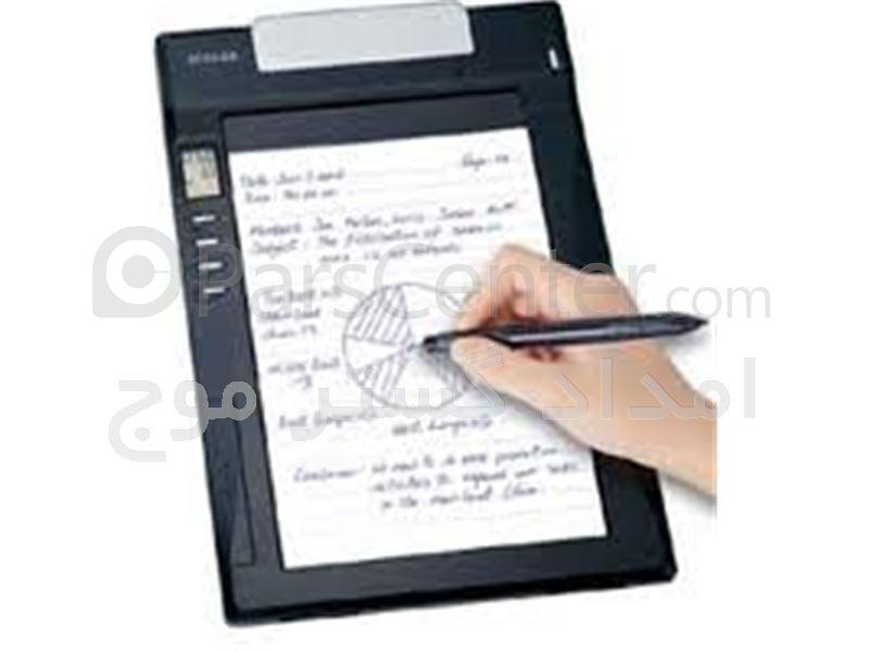 دفترچه یادداشت الکترونیکی با LCD گرافیگی، دماسنج سخنگو