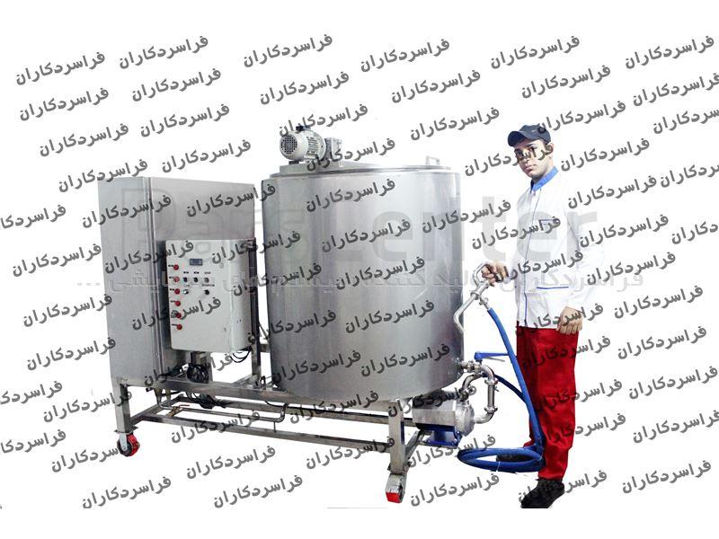 دستگاه شیر جوش 700لیتری