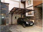 پوشش سقف پارکینگ با ورق پلی کربنات PS Pu5