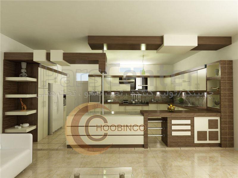 کابینت آشپزخانه و مصنوعات ام دی اف کمجا چوبینکو - مدل k08
