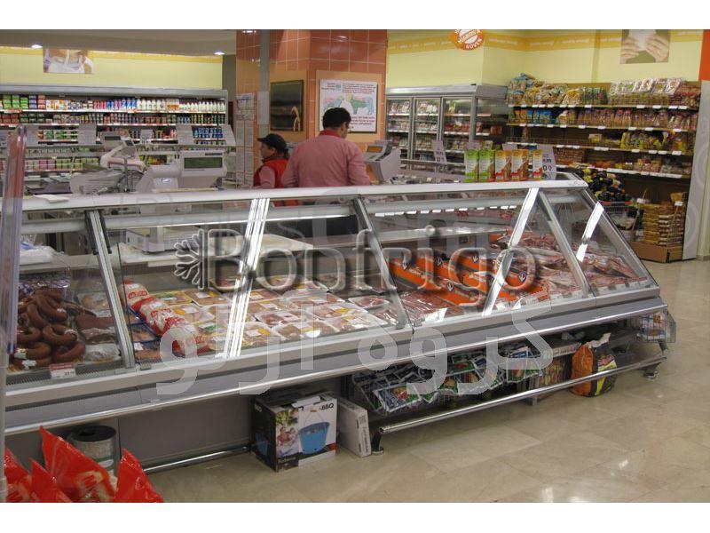یخچال ویترینی فروشگاهی،یخچال هایپر مارکتی