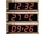 ساعت دیجیتال LED در ابعاد 11 در 24 سانتیمتر