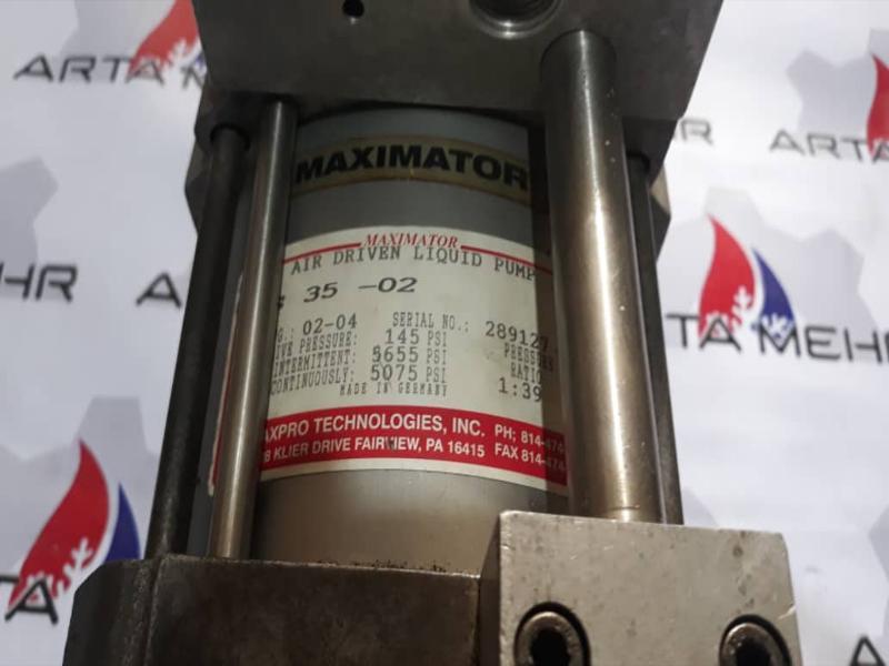 پمپ هیدرولیک MAXIMATOR مدل S 35-02