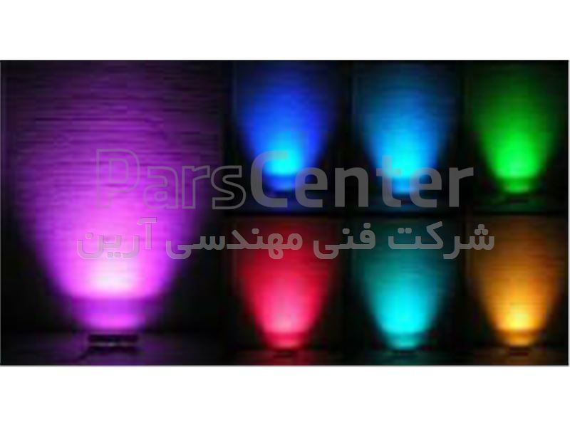 چراغ LED ، پروژکتور Led ، وال واشر LED ، سنگ نورانی