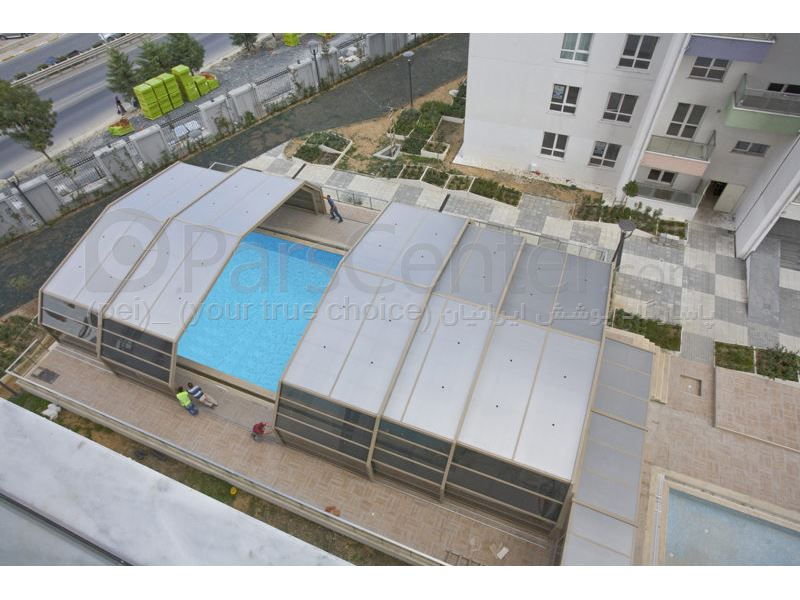pool enclosures  models Zly - پوشش استخر مدل چند ظلعی 13