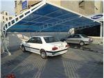 پوشش سقف پارکینگ با ورق پلی کربنات PS PK13