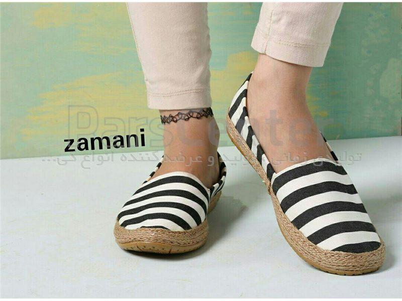 کفش زنانه پارچه ای کد 412