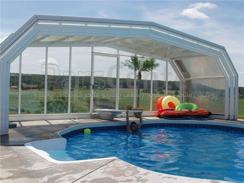 پوشش سقف استخر متحرک کد MS 04