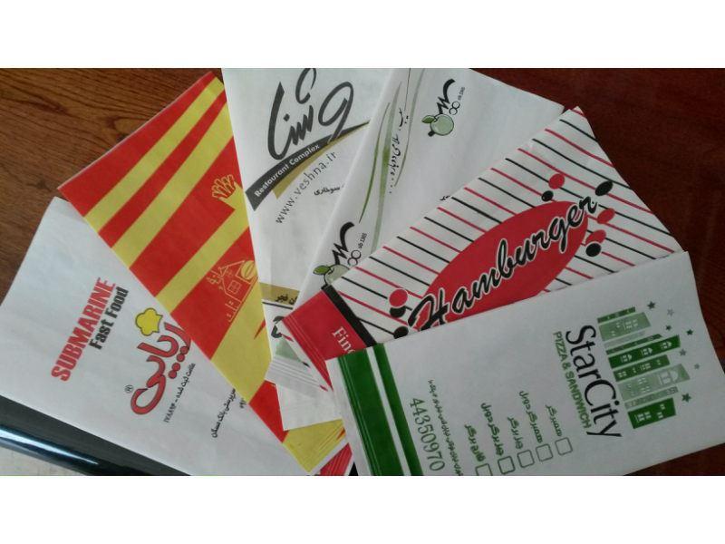 موسسه مرمری - پاکت ساندویچ، تولید کننده انواع پاکت فود گرید،انواع پاکت ساندویچ، پاکت فست فود، پاکت مومی، پاکت همبرگر، پاکت برگر