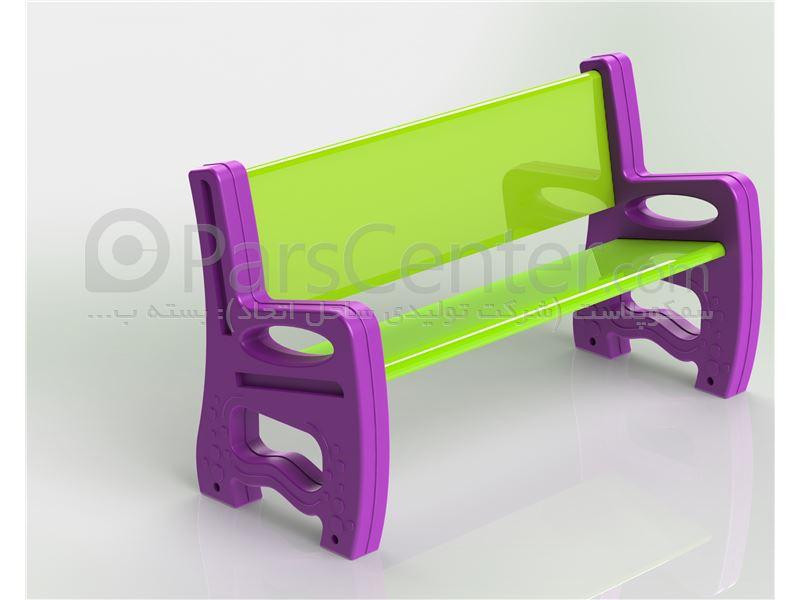 نیمکت تمام پلاستیکی /// صندلی تمام پلاستیکی