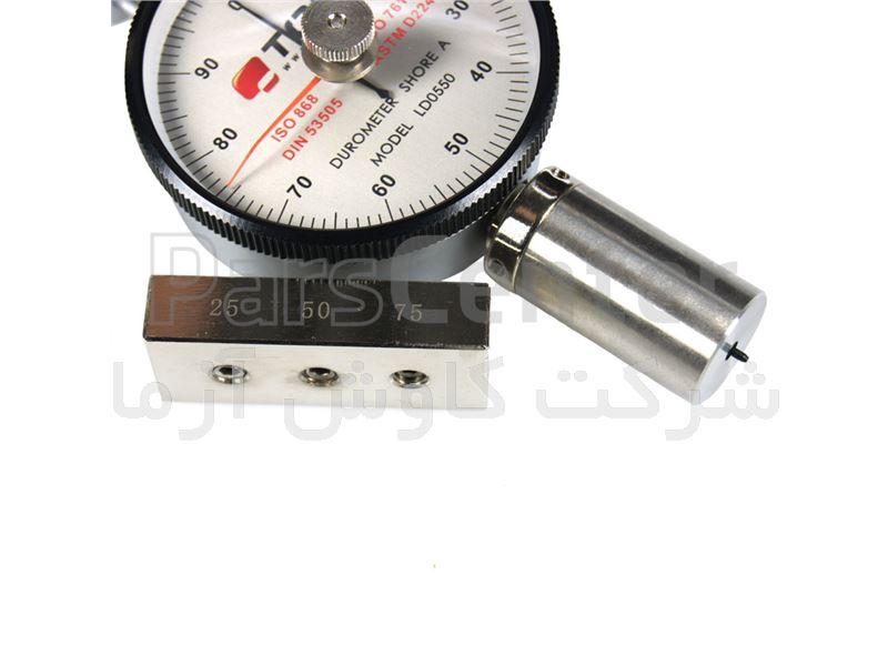 سختی سنج لاستیک شور A مدل LD0550