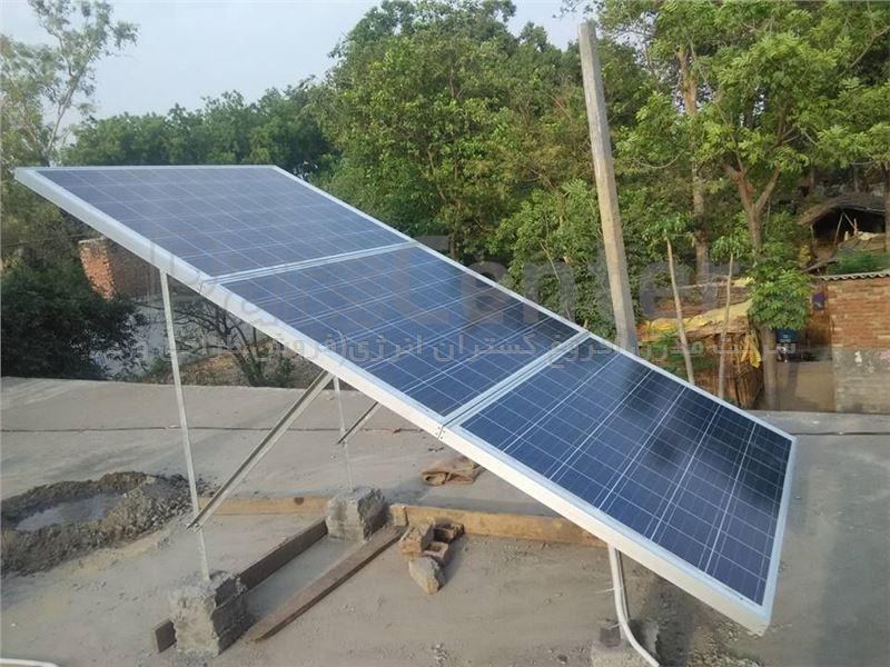 سیستم خورشیدی 6000 وات - مدرن افروغ گستران انرژی