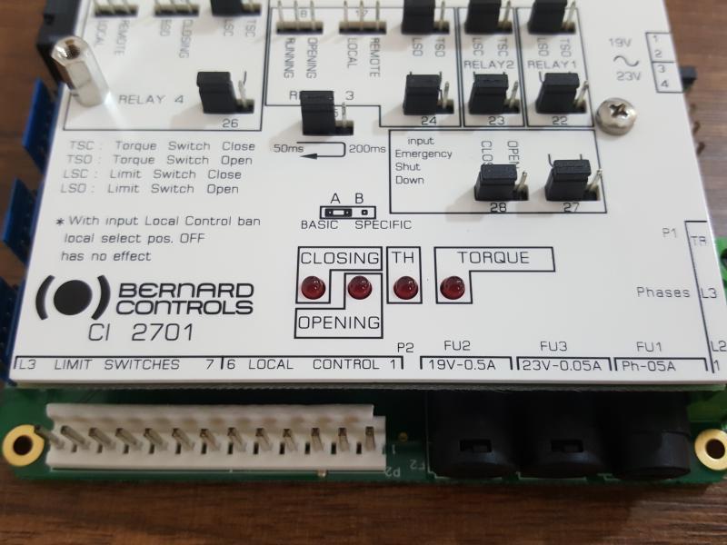 کارت اکچویتور الکتریکی ال برنارد L.BERNARD