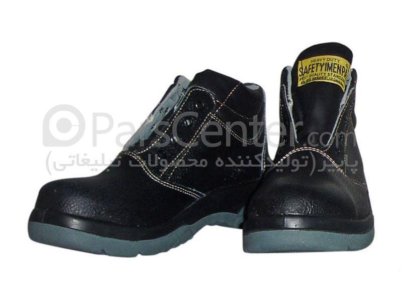 کفش ایمنی کار نیم پوتین | کد W102