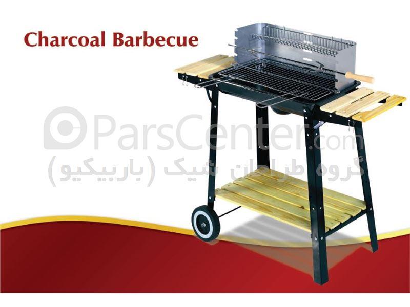 باربیکیو ذغالی wagon