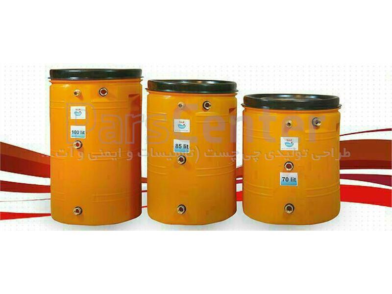 منبع انبساط پلاستیکی 70 لیتری چی چست یانارسو