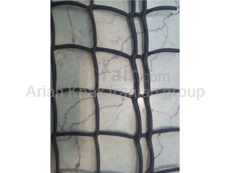 Polyethylene Geogrid used for making gabions