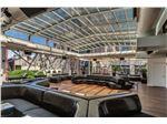 سقف و سازه زیبا برای رستوران با طراحی سفارشی