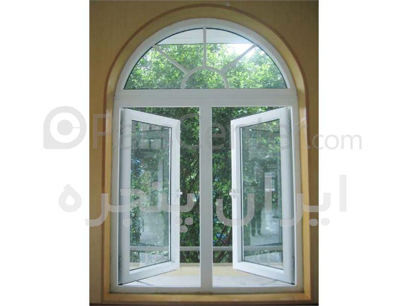 ساخت پنجره های دوجداره UPVC در طرحهای مختلف