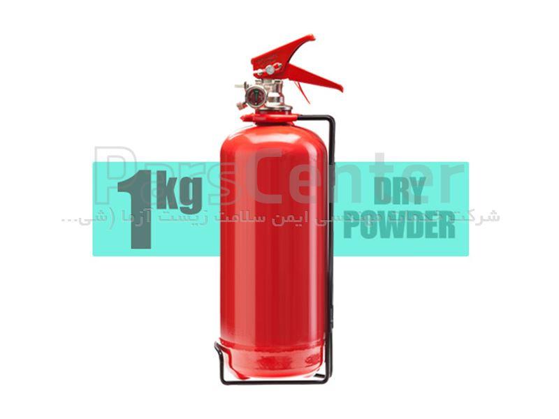 کپسول آتش نشانی پودروگاز یک کیلویی