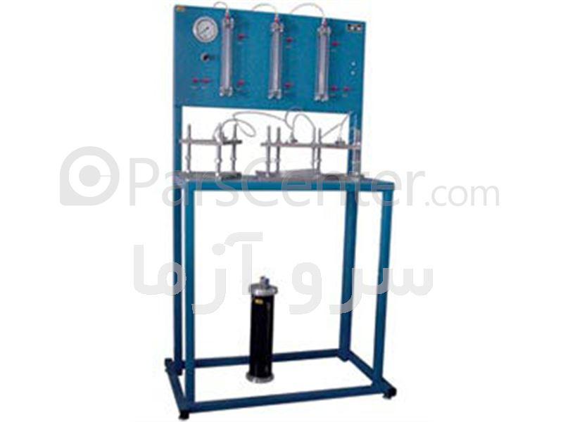 دستگاه نفوذپذیری آب در بتن ( نفوذ ناپذیری )
