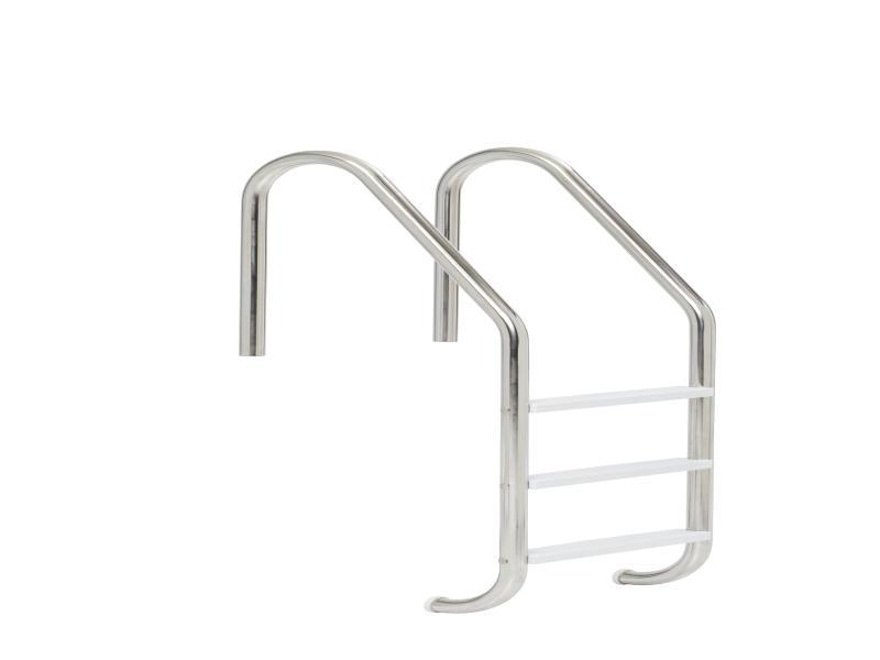 پله استخر استیل استاندارد