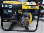 موتور برق 2.5Kw یونیک دیزلی با استارت و باطری ( UNIQ ) ساخت چین