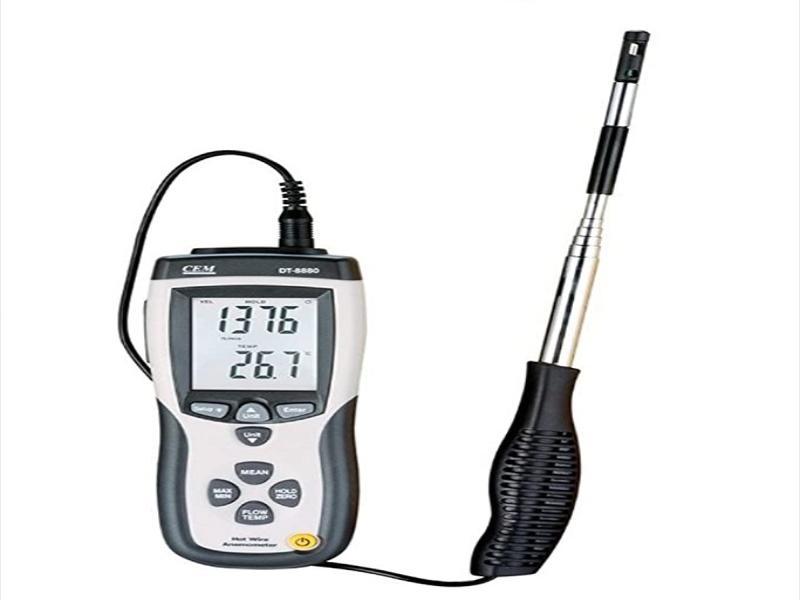 سرعت سنج باد با سنسور گرمایی مدل DT-8880 برند سی ای ام