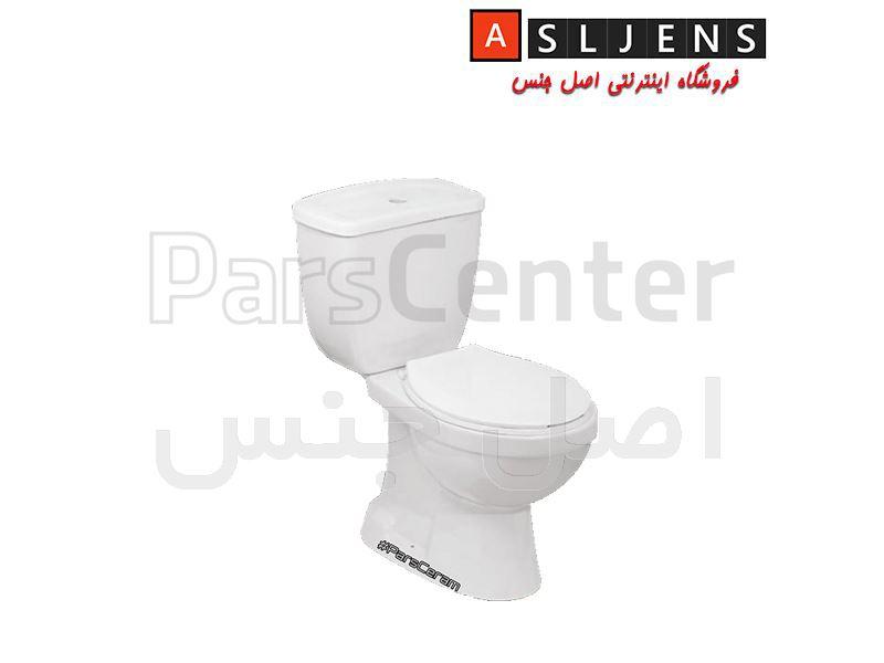 توالت فرنگی مدل شقایق پارس سرام