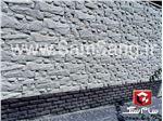 سنگ مصنوعی سمنت پلاست نما طرح صخره ای 9 تکه