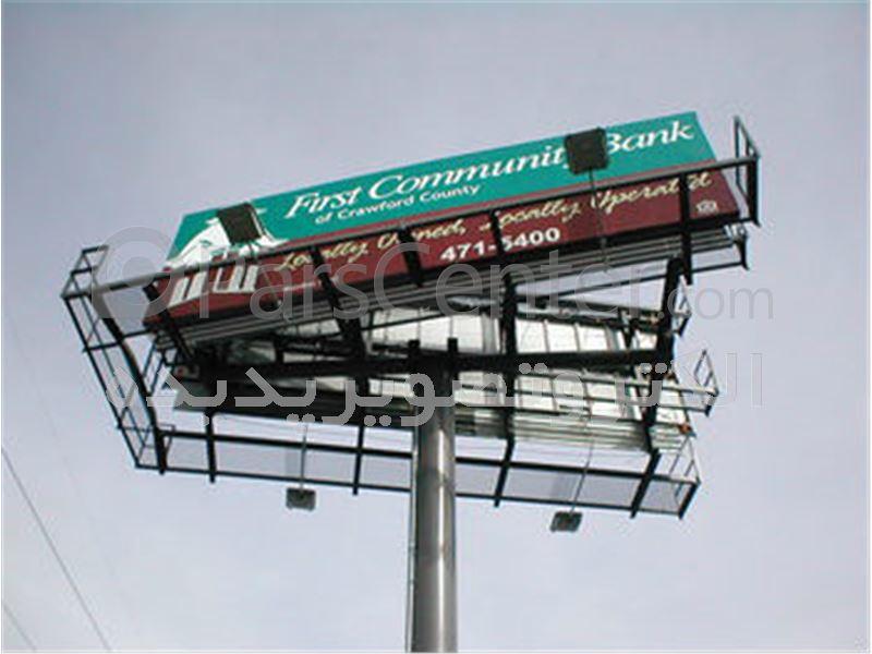 طراحی– محاسبه – اجرا ونصب سازه بیلبورد ها ی غولپیکر و تلویزیون شهری
